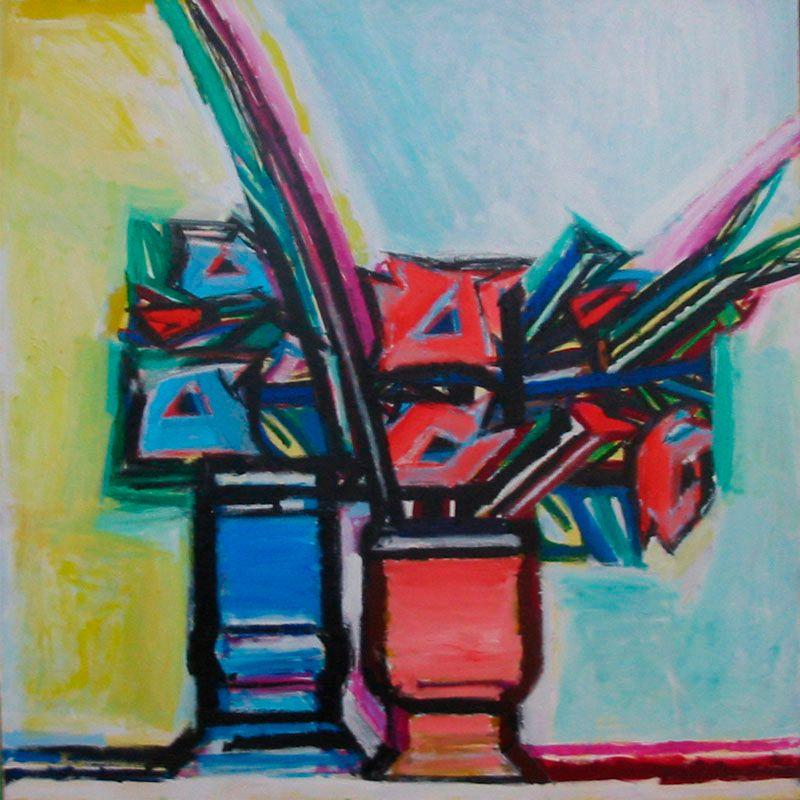 Vaak Jacques Frenken - schilderijen SM-49